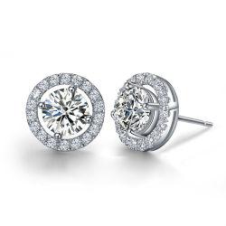 Beste Sterlingsilber-Stift-Hochzeits-Ohrringe Jewellry der Qualitäts925