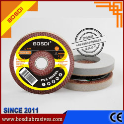 """مصنع يوري للمعدات الأصلية، 4"""" Bosdi Abradives PVA spongy عجلة تلميع، عجلة/قرص التجليخ"""