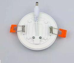 Встраиваемый светильник акцентного освещения панели освещения 8W/15W/20W/24 Вт Безрамные круглый светодиодный Домашнее освещение