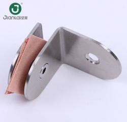 Connecteur pour cabines de douche en verre de mur de verre de Clip pour collier de serrage