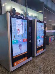 商業冷却する単一の透過49inch LCDのガラスドア冷却装置