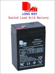 6V4.5ah Batería de plomo ácido utilizado para el niño Scooter