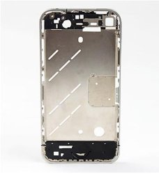per il iPhone 4S Metal Middle Plate Chassis Replacement Original - Silver