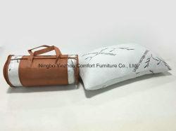 Almofadas suaves em espuma de memória desfiado tecido de bambu