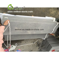 De gevlamde Blokken van de Stap van het Graniet van de Oppervlakte G654 Grijze