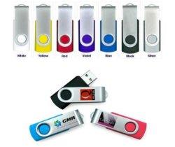 Unidades flash USB com Banheira Swivel promocionais personalizadas