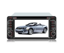 Carro de 8 polegadas de leitor de DVD para a Toyota Reiz com GPS TV Bluetooth RDS
