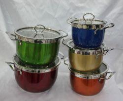 Keukengerei van het Staal van Cookware Set/Stainless van het roestvrij staal Non-Stick