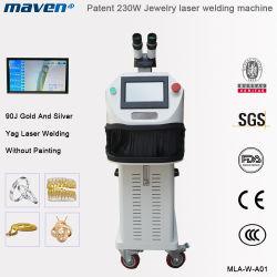 230W Soldador Jóias do equipamento fazendo jóias de ouro máquina de soldar a Laser Gravura Spot Máquina marcação a laser