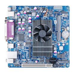 Mini-Itx a bordo de la Motherboard CPU Atom D425, 5*COM LVDS de apoyo, VGA