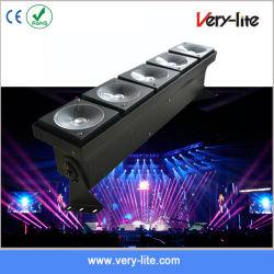 5 رؤوس ضوء LED مصفوفة إضاءة المرحلة من خلال مصباح LED المحلول