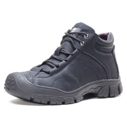 Mens женщин стали Toe рабочей повседневный кожа Toe вырезать летом благоухающем курорте мужчин&Кампания просрочена; S ботинки обувь