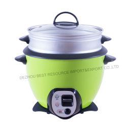 Het beste Elektrische Kooktoestel van de Rijst de Trommel van 1.8 L met beweegt de Functie van het Gebraden gerecht