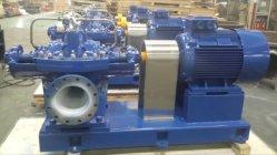 Pompa orizzontale di flusso della pompa ad acqua di doppia aspirazione della pompa centrifuga di doppia aspirazione della pompa aspirante del doppio della singola fase grande