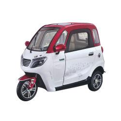 Nouveau type de l'Europe d'E-MARK passager bon marché trois roues Tricycle électrique fermé Moto Taxi la cabane de rickshaw voiture avec la CEE/certificat Coc