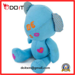 Saint Valentin cadeau Pinting Panda bleu ours en peluche ours en peluche