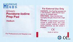 Tampon de Prep Povidone-Iodine CHIRURGICAUX jetables