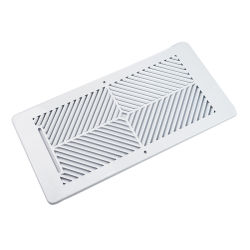 Dongguan ventilación personalizadas de rejilla de aire de ventilación ajustable de la puerta interior de la puerta del baño