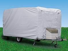 Couvercle de protection UV étanche de caravane avec sangle de boucle