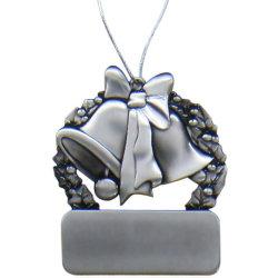 Corona della decorazione di natale & ornamento della Bell