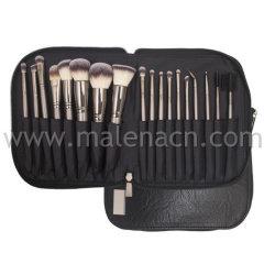 OEM-высокое качество 18ПК косметические щетки с синтетические волосы