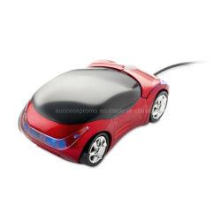 Mouse ottico nella figura alla moda dell'automobile