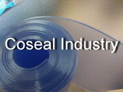 Het berijpte Blauwe Lichte Blad van Polyvinyl Chloride