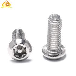 La norma ISO 7380 1/4-20*3/8 Torx T30 de acero inoxidable tornillos de seguridad Pin
