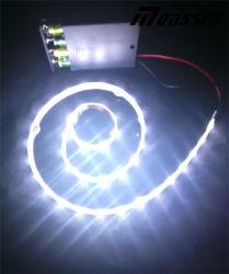 SMD3528 LED Light Strip 66LED/M Battery Supply LED Strip