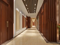 장식적인 건축 옥외 WPC 플라스틱 합성 빈 목제 천장 로그는 관 물자를 재목으로 받친다