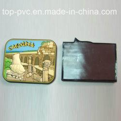 Высокое качество пластика рекламных 3D-мягкий ПВХ холодильник магнит (FM-005)