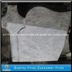 Het Monument en de Grafsteen van de Steen van het Graniet van China Juparana met Kruis