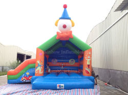 Clown gonflable Bouncer avec toboggan RB1062 (4,5*4,5*5m)