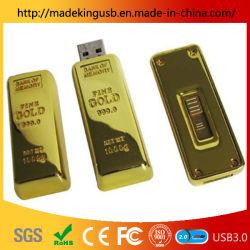 金の銀行業のギフトまたは金塊USBのフラッシュ駆動機構