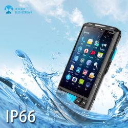Barcode 스캐너를 가진 IP66 NFC GPS 4G Lte 산업 어려운 인조 인간 PDA
