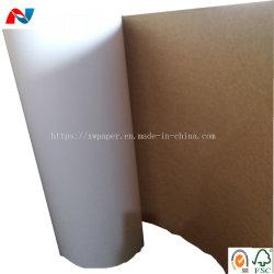 Chemise de kraft paper board un côté blanc marron côté arrière