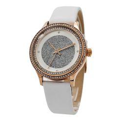 Superbe en acier inoxydable de cristal Fashion femmes Watch (HM2595)