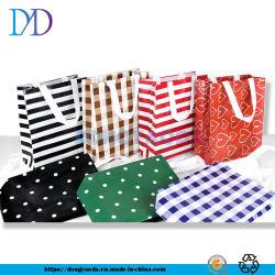 昇進の多彩なカスタマイズされた印刷されたPPによって薄板にされる非編まれた袋、非編まれたハンドバッグ