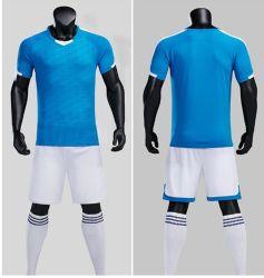 速い乾燥したCustomeのスポーツの摩耗のサッカーのワイシャツのFotballの服装のサッカーかFotballジャージーの方法衣類の通気性の衣服