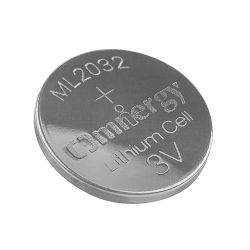 [3ف] [أمنرج] [مل2032] [ليثيوم-لومينوم] [رشرجبل] عملة بطارية