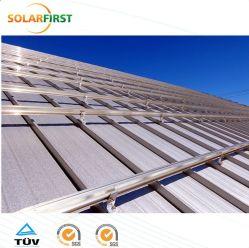 Alliage aluminium de haute qualité pour les rails horizontaux du système de montage solaire