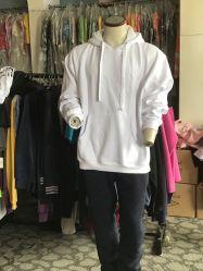 60% coton 40% polyester brossé à l'intérieur chaud Men's pull Hoodies
