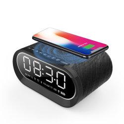 Беспроводной Чэринг крытый спальня Bluetooth громкоговоритель с часами и будильником