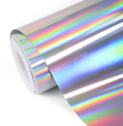 Zilveren Holografische Ambacht & Hobby die VinylFilm snijden