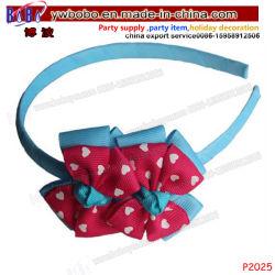 L'arco del nastro del regalo di festa scherza gli accessori dei capelli della fascia dei capelli di Headwear dei prodotti per i capelli (P2025)