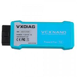 Vcx Vxdiag Nano Для Toyota Tis Techstream V14 совместимы со стандартом SAE J2534 WiFi версии поддержку год 2019