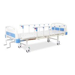A2K5s (QB) Manual de acero Powder-Coated Hospital cama plegable con dos funciones