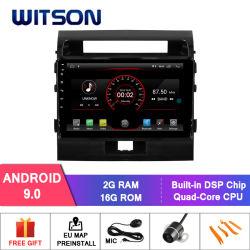 Toyota Landcruiser 200 2008-2012년을%s Witson 차 DVD 항법 GPS