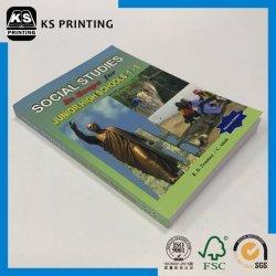 완벽한 바인딩 중학교 사회 학 도서 인쇄