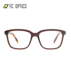 Vetri pronti del telaio dell'ottica dell'occhio di Eyewear degli occhiali di vetro dell'occhio delle merci delle donne dell'ultimo di modo di sicurezza di prescrizione dell'iniezione orlo pieno all'ingrosso di rettangolo